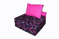 Безкаркасне Крісло-ліжко зі знімним чохлом з тканини Оксфорд і ручкою для перенесення 200х100х20 см