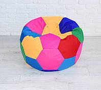 Мягкое Бескаркасное Кресло-мешок Мяч средний со съемным чехлом и ручкой для переноски, ткань Оксфорд, D=80 см, фото 1
