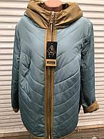 Куртка женская батал размер  с 56 по 66 ростовкой, расцветки, фото 1