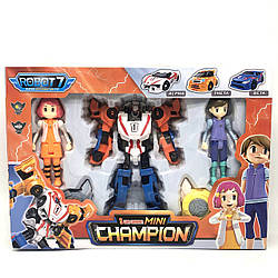 Робот-трансформер Tobot Champion mini