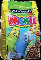Vitakraft (Витакрафт) Корм для волнистых попугаев с медом 500гр