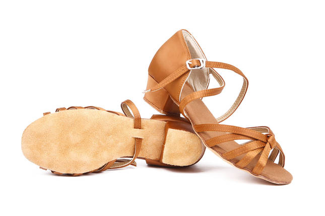 Туфли детские для бальных танцев кедр Rivage Line А 7100-25, фото 2