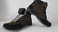 Мужские ботинки Ecco Новинки 2015 (коричневые крейзи)