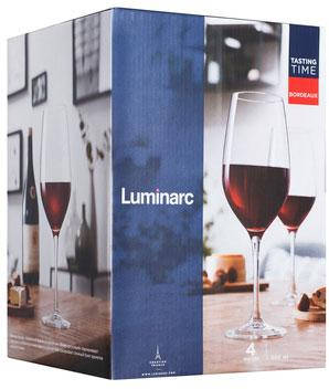 Набор бокалов Luminarc Бордо P6815/1 580 мл 4 шт, фото 2
