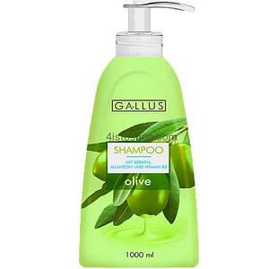 Шампунь с дозатором 1 л Olive Gallus 4251415300490