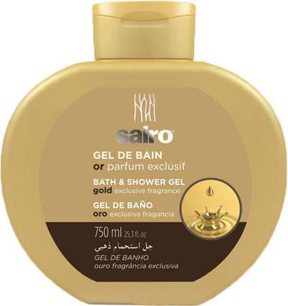 Гель для душа и ванной 750 мл Исключительный золотой аромат Sairo 8433295049331, фото 2