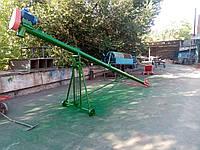 Шнековий транспортер 140 мм, довжина 6 м