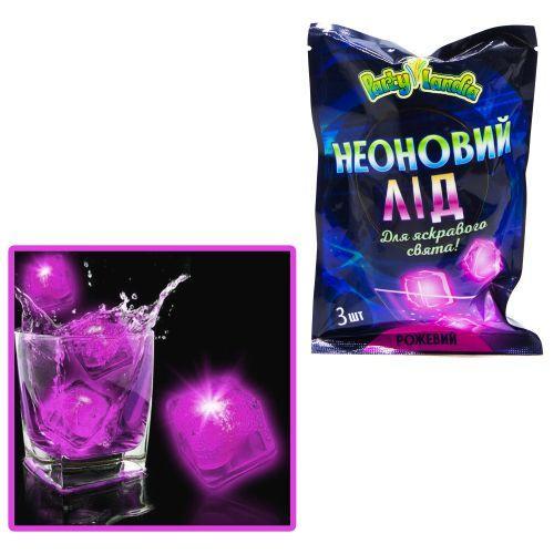 Неоновый лед, розовый PL111
