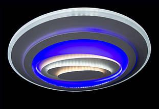 Светодиодная люстра N 6713 (WT) 130w, фото 3