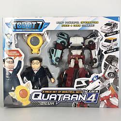 Робот-трансформер Tobot Quatran Q1907 - ФО