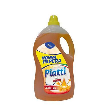 Cредство для мытья посуды 4 л Nonna Papera Detersivo Piatti Concentrato 8003985005260, фото 2