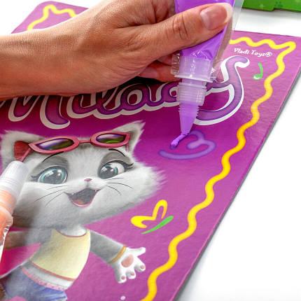Набор для творчества «Кремовое тесто. 44 Котёнка» (укр) VT4433-02, фото 2