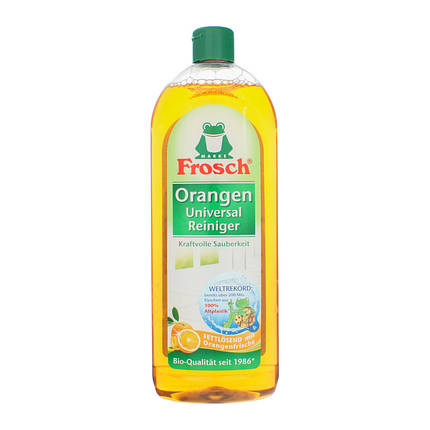 Универсальный очиститель 750 мл Апельсин Frosch 4001499140648, фото 2