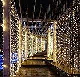 Гірлянда Завісу (Curtain) ПВХ 3x1.5м Внутрішня, фото 8