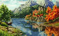 ЗОЛОТОЕ РУНО Набор для вышивания Замок у реки