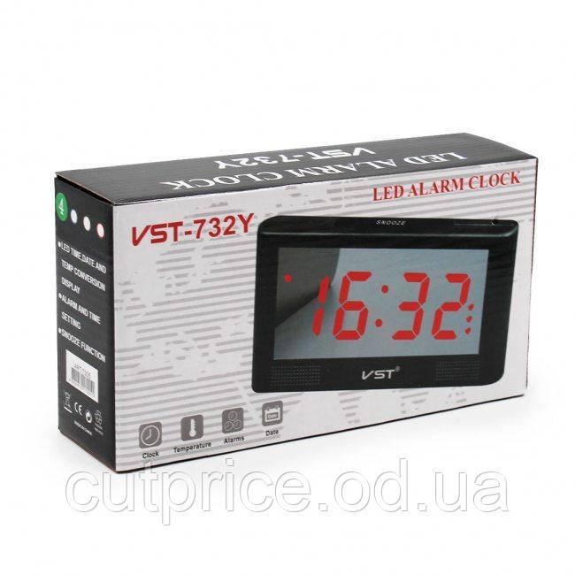 Часы VST 732Y зеленые (60) в уп.30 шт.