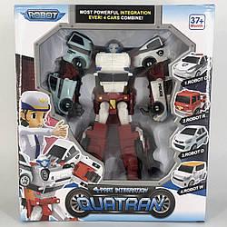 Робот-трансформер Tobot Quatran