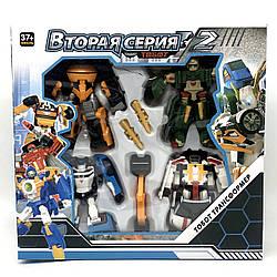 Робот-трансформер Tobot Друга серія 2