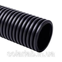 Труба гофрированная ПВХ УФ-стойкая (750Н) d50мм
