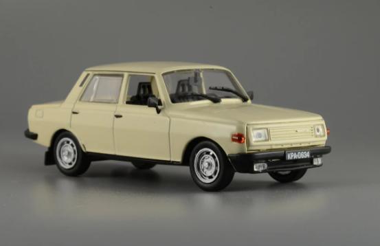 Автолегенды №156 WARTBURG 353 (ГДР) бежевый | Коллекционная модель 1:43 | DeAgostini