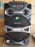 Колонка аккумуляторная Ailiang U1318SK c радиомикрофонами (200W/USB/BT/FM), фото 2