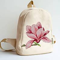 Рюкзак пошитый под вышивку Магнолия