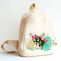 Рюкзак пошитый под вышивку Красотка