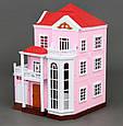 Домик кукольный Вилла 3 этажа, без мебели и кукол (аналог Sylvanian Families) 1513, фото 3
