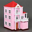Домик кукольный Вилла 3 этажа, без мебели и кукол (аналог Sylvanian Families) 1513, фото 4