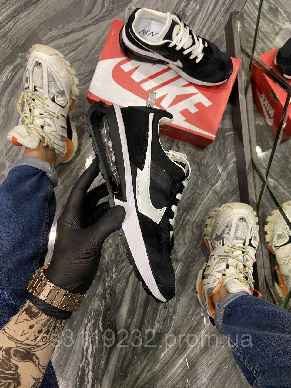 Мужские кроссовки Nike Air Max 270 Pre Day (черные)