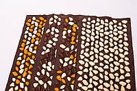Коврик с камушками DECO - Lamor 140х40 см (коричневая основа), фото 1