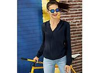 Стильная легкая шифоновая блуза, блузка от Esmara, Германия, S-M