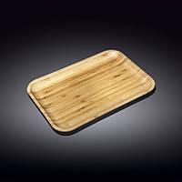 771055-WL Блюдо Wilmax Bamboo дерево прямокутне 33х23см