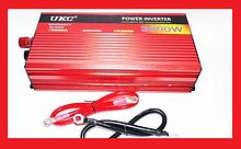 UKC 3000W 12V-220V Преобразователь авто инвертор с функцией плавного пуска