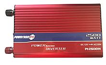 Преобразователь напряжения, инвертор 12V-220V 2500W TBE