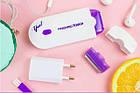 Эпилятор - женская бритва триммер Yes Finishing Touch 2в1, женский беспроводной портативный эпилятор для тела, фото 8