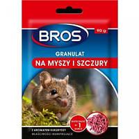 Гранулы от крыс и мышей Bros 90г.