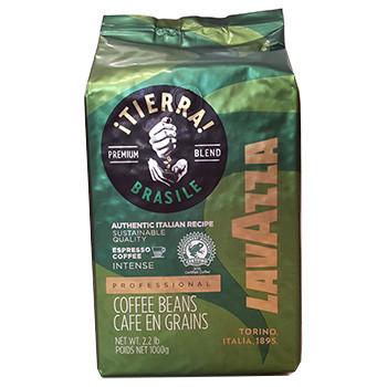 Зернова кава Lavazza Tierra Brazil 1кг