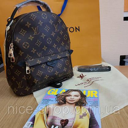 Рюкзак Louis Vuitton монограм средний на тонких лямках, фото 2