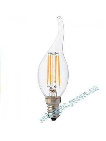 Светодиодная лампа Filament Flame 6W 2700K E14
