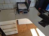 Стіл офісний кутовий 1350х1200, б/у, фото 2