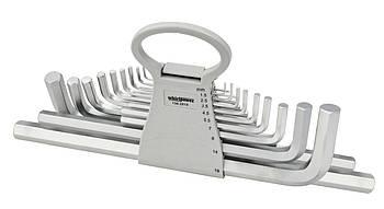 Набор ключей-шестигранников HEX Whirlpower 158-2818, 18 ед.