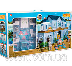 Будиночок з флоксовыми тваринами Happy Family 012-11 Заміський Будиночок (аналог Sylvanian Families)