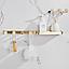 Настенные крючки для ванной комнаты + полочка. RD-634, фото 2