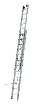 Лестница ELKOP VHR L 2x20 алюминиевая, на канатной тяге