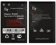 Батарея (акб, аккумулятор) BL6401 для Fly DS103D / Ezzy 6 / Trendy, 800 mAh, оригинал