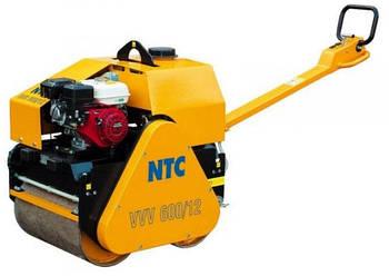 Виброкаток ручной NTC VVV 600/12 двухвальцевый