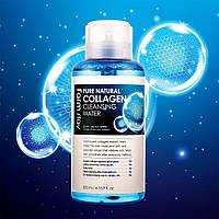 Очищающая вода коллагеном Farmstay Pure Natural Collagen Cleansing Water 500mlмл