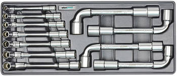 Набор торцевых ключей Whirlpower 8-19 мм, 11 шт, ложемент