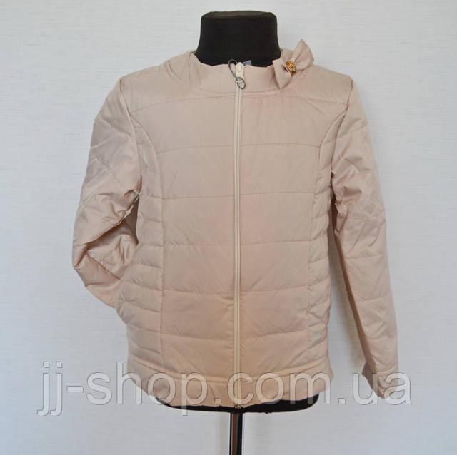 Детская куртка на девочку демисезонная